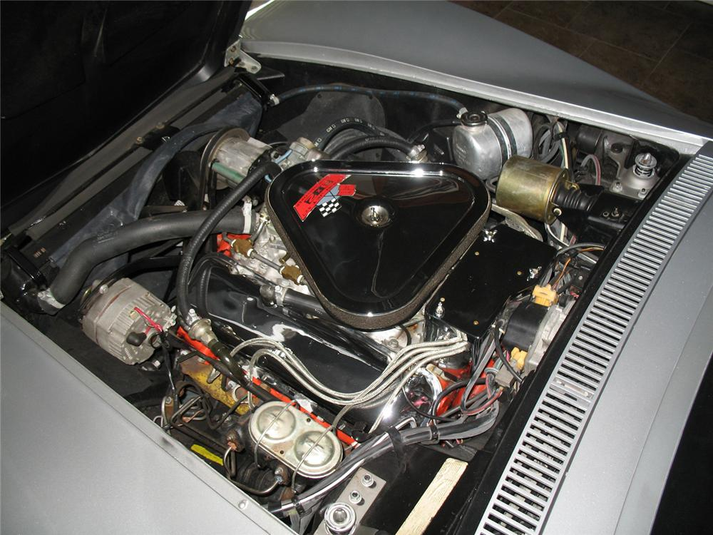 1969 CHEVROLET CORVETTE CONVERTIBLE - Engine - 64374