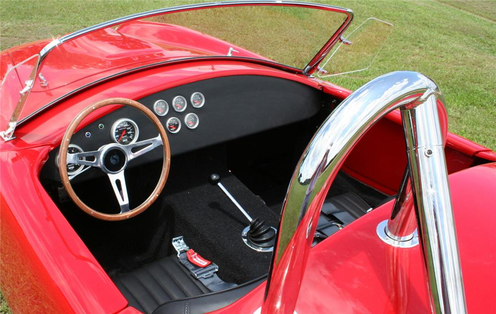 1965 SHELBY COBRA ROADSTER RE-CREATION - Interior - 64379