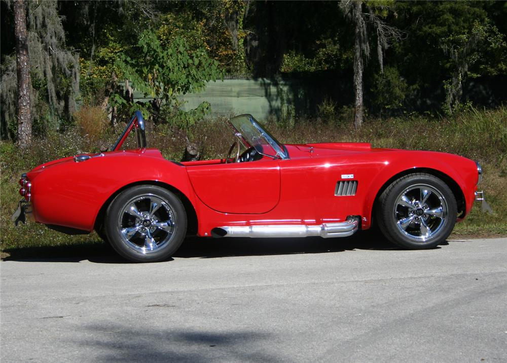 1965 SHELBY COBRA ROADSTER RE-CREATION - Side Profile - 64379