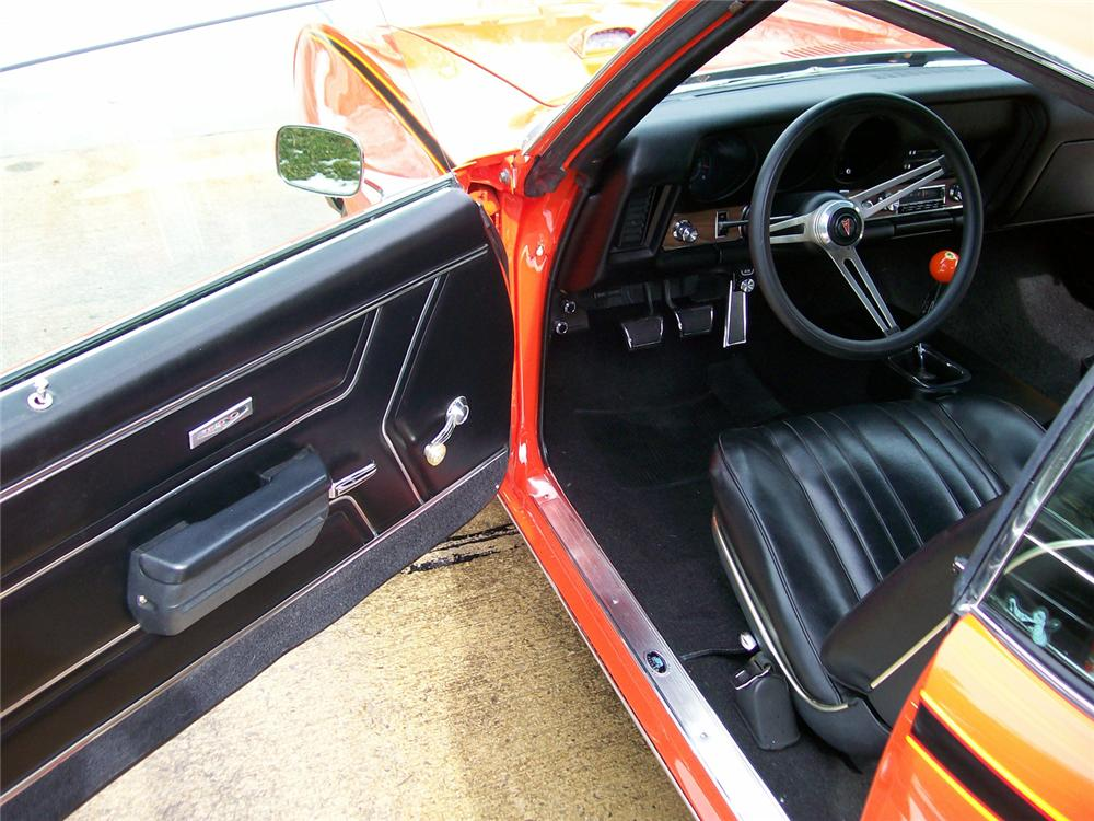 1969 PONTIAC GTO JUDGE COUPE - Interior - 64403