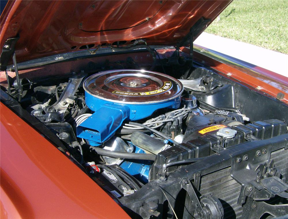 1969 FORD MUSTANG 428 CJ SPORTSROOF - Engine - 64406