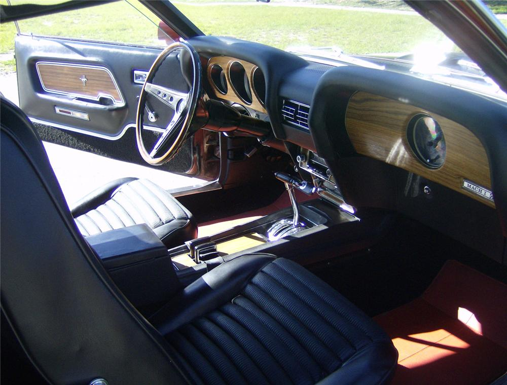1969 FORD MUSTANG 428 CJ SPORTSROOF - Interior - 64406