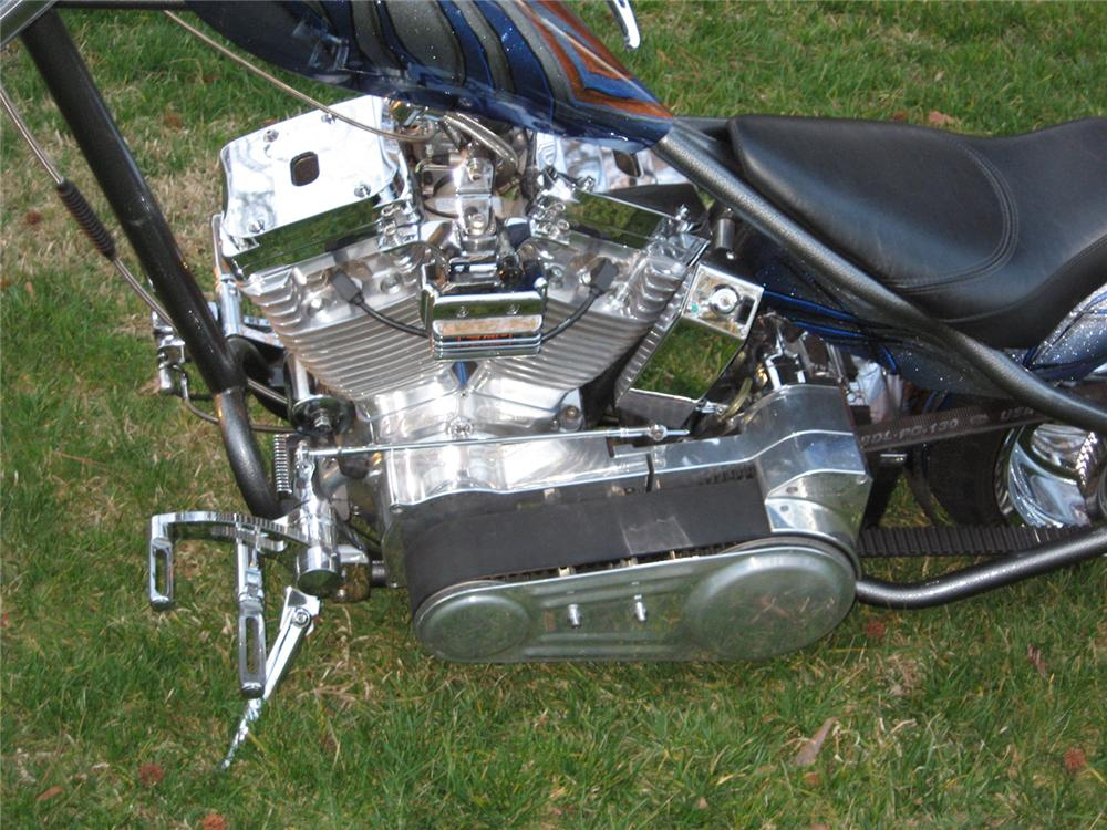 "2003 ORANGE COUNTY CHOPPERS T-REX ""THE JAY LENO BIKE"" - Engine - 64411"