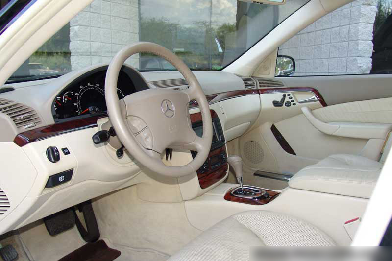2003 MERCEDES-BENZ S500 SPORT SEDAN - Interior - 64416