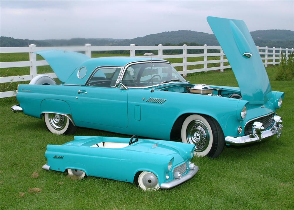 1956 FORD THUNDERBIRD COUPE - Front 3/4 - 64422