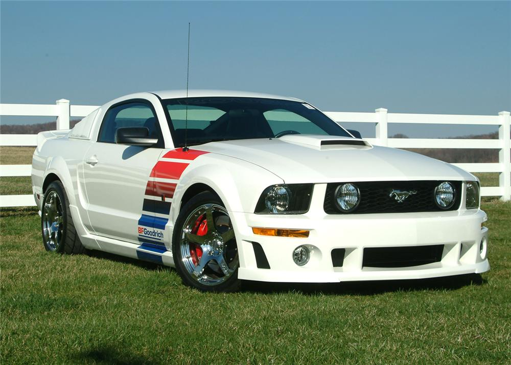 2006 ford mustang roush stage 3 custom 2 door coupe 64424. Black Bedroom Furniture Sets. Home Design Ideas