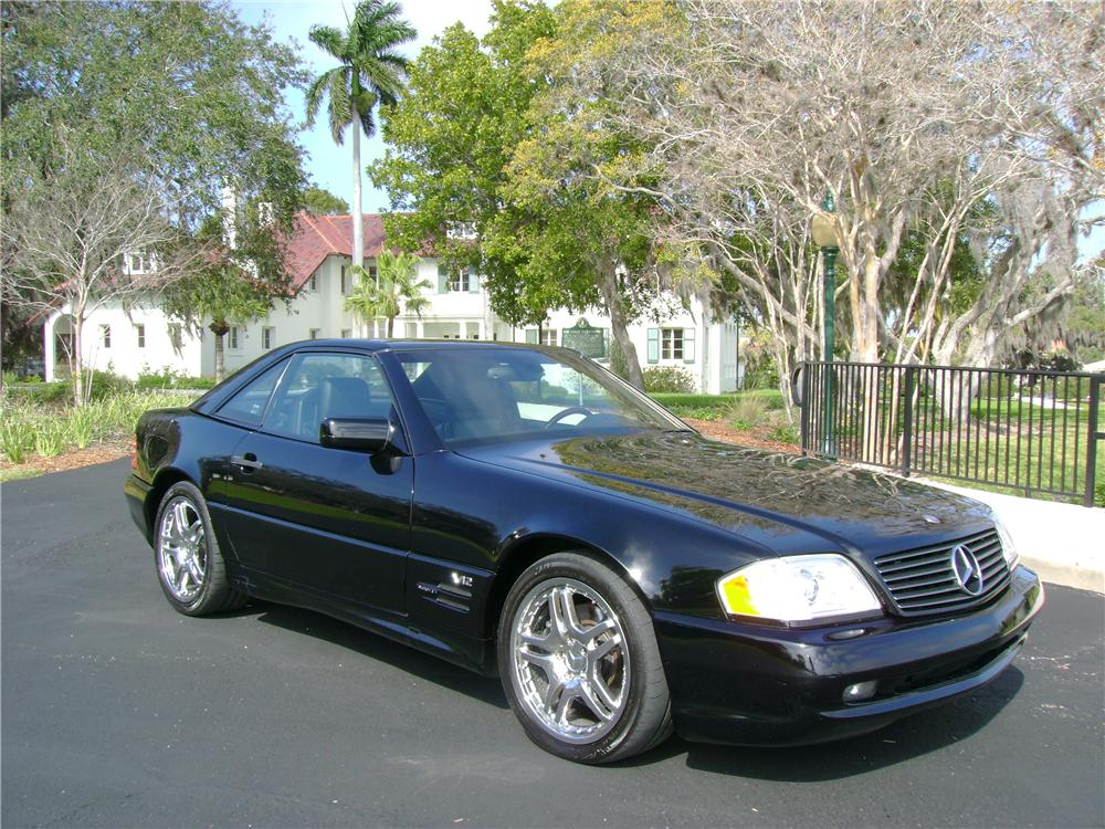 1998 MERCEDES-BENZ 600SL CONVERTIBLE - Front 3/4 - 64435