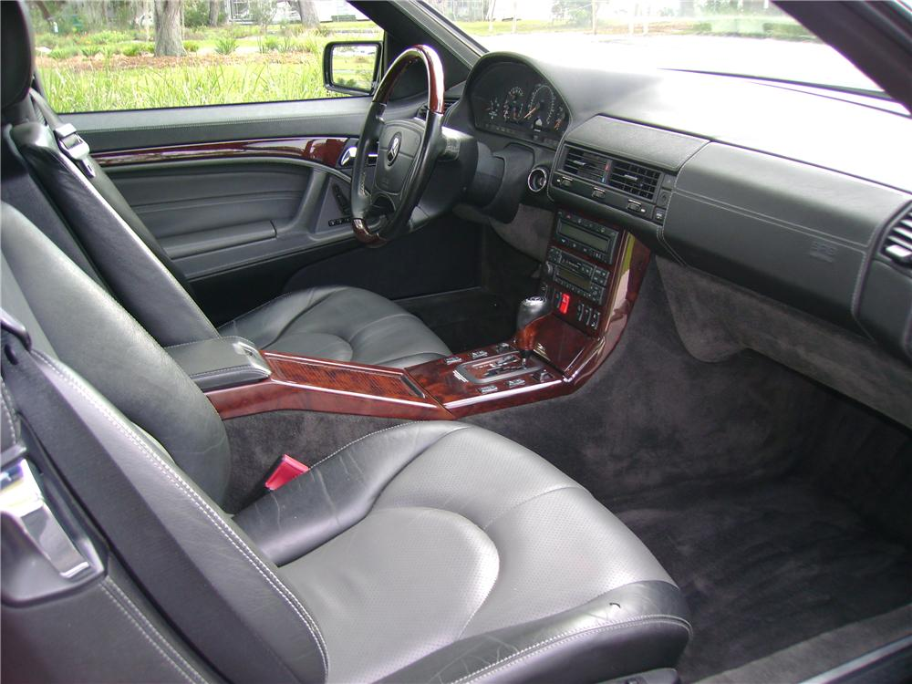 1998 MERCEDES-BENZ 600SL CONVERTIBLE - Interior - 64435