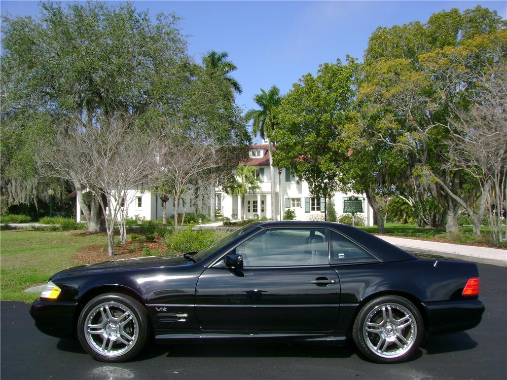 1998 MERCEDES-BENZ 600SL CONVERTIBLE - Side Profile - 64435