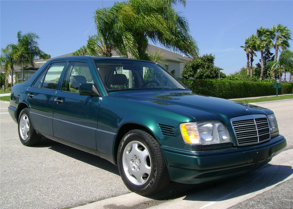 1995 mercedes benz 300e diesel 4 door sedan 64437 for Mercedes benz 4 door