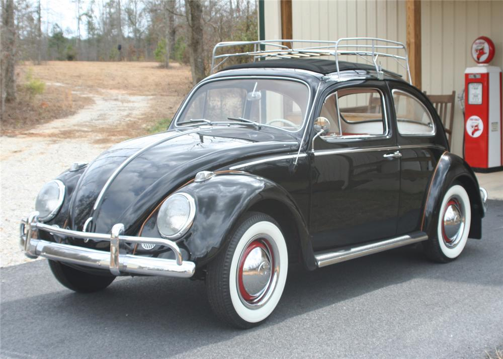 1963 VOLKSWAGEN BEETLE 2 DOOR SEDAN - Front 3/4 - 64442