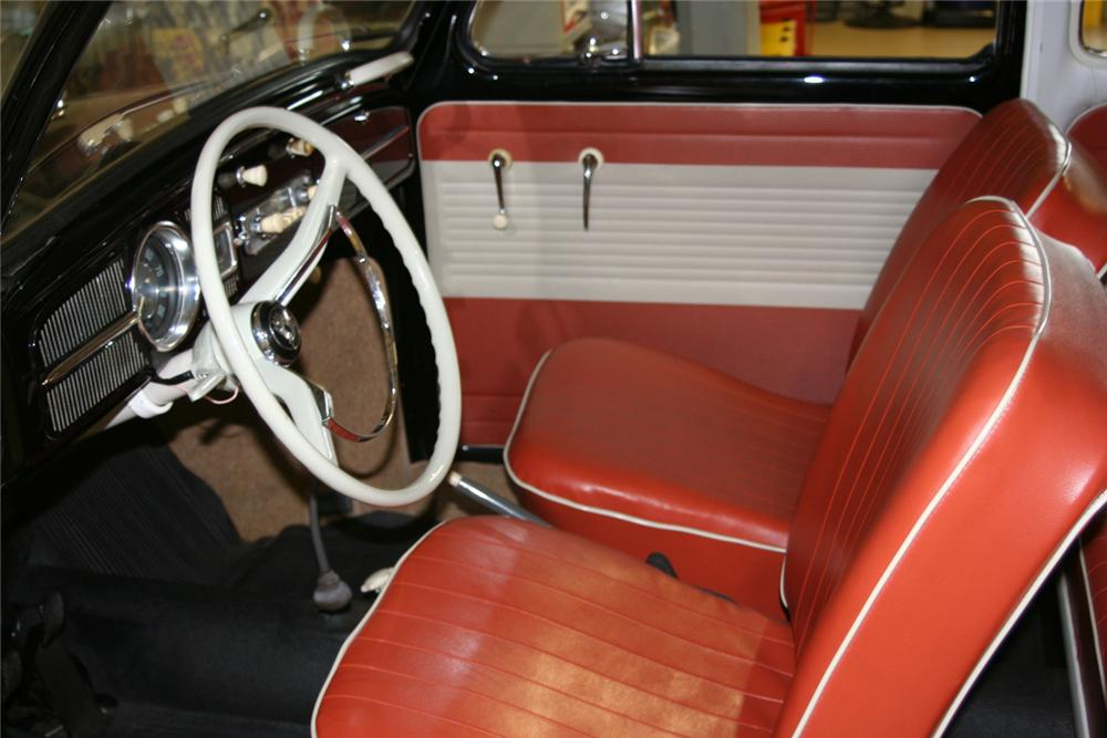 1963 VOLKSWAGEN BEETLE 2 DOOR SEDAN - Interior - 64442