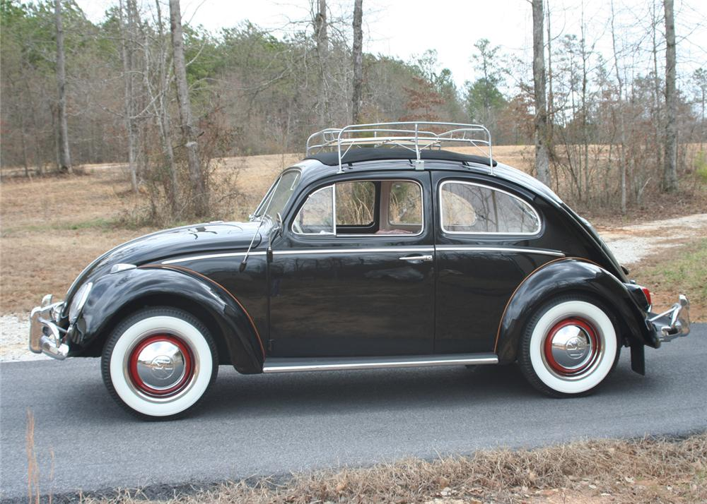 1963 VOLKSWAGEN BEETLE 2 DOOR SEDAN - Side Profile - 64442