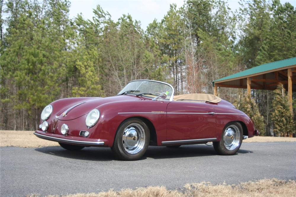 1956 PORSCHE 356 SPEEDSTER RE-CREATION - Front 3/4 - 64443