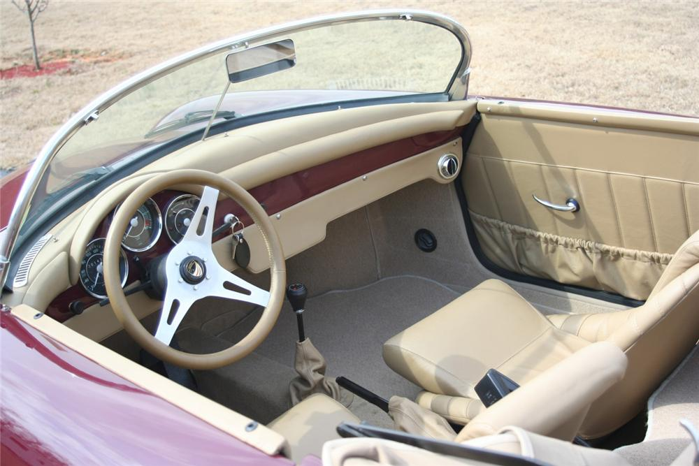 1956 PORSCHE 356 SPEEDSTER RE-CREATION - Interior - 64443
