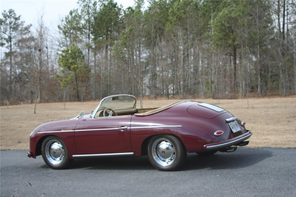 1956 PORSCHE 356 SPEEDSTER RE-CREATION - Rear 3/4 - 64443