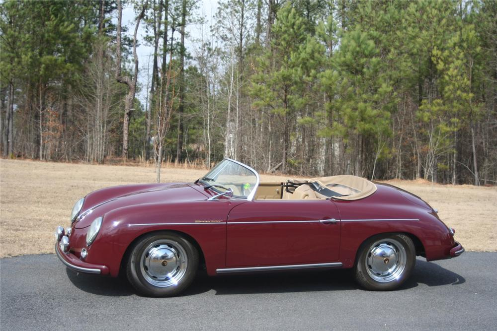 1956 PORSCHE 356 SPEEDSTER RE-CREATION - Side Profile - 64443