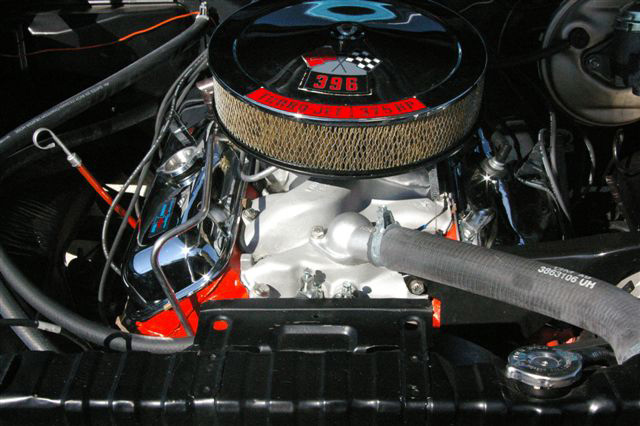1966 CHEVROLET CHEVELLE SS 396 2 DOOR HARDTOP - Engine - 64444