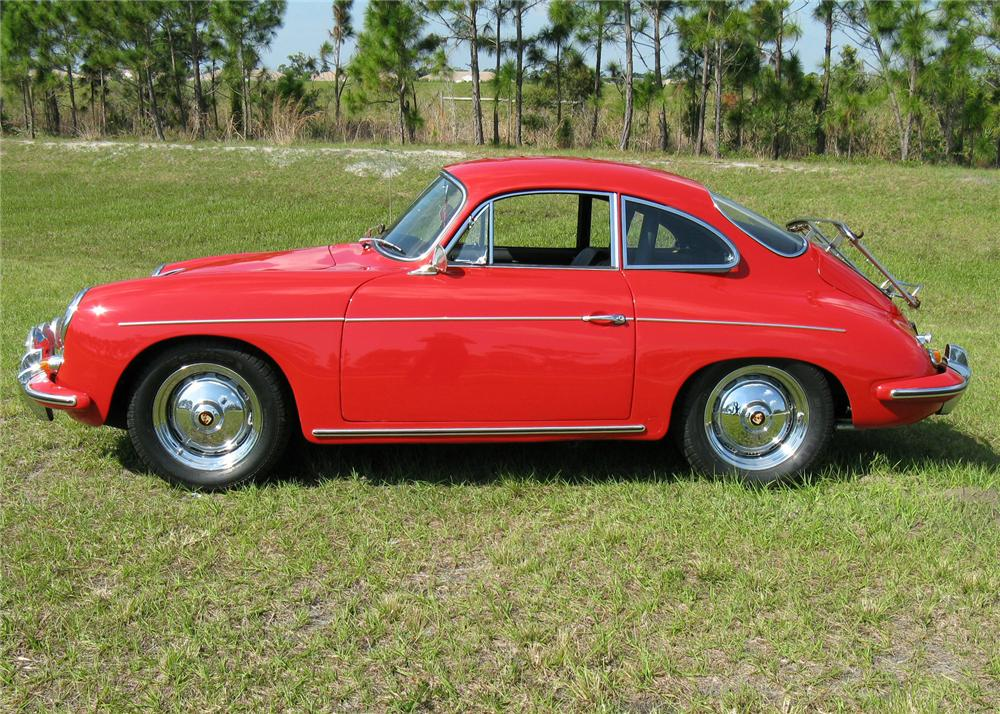 1963 PORSCHE 356B 1600S COUPE - Side Profile - 64446
