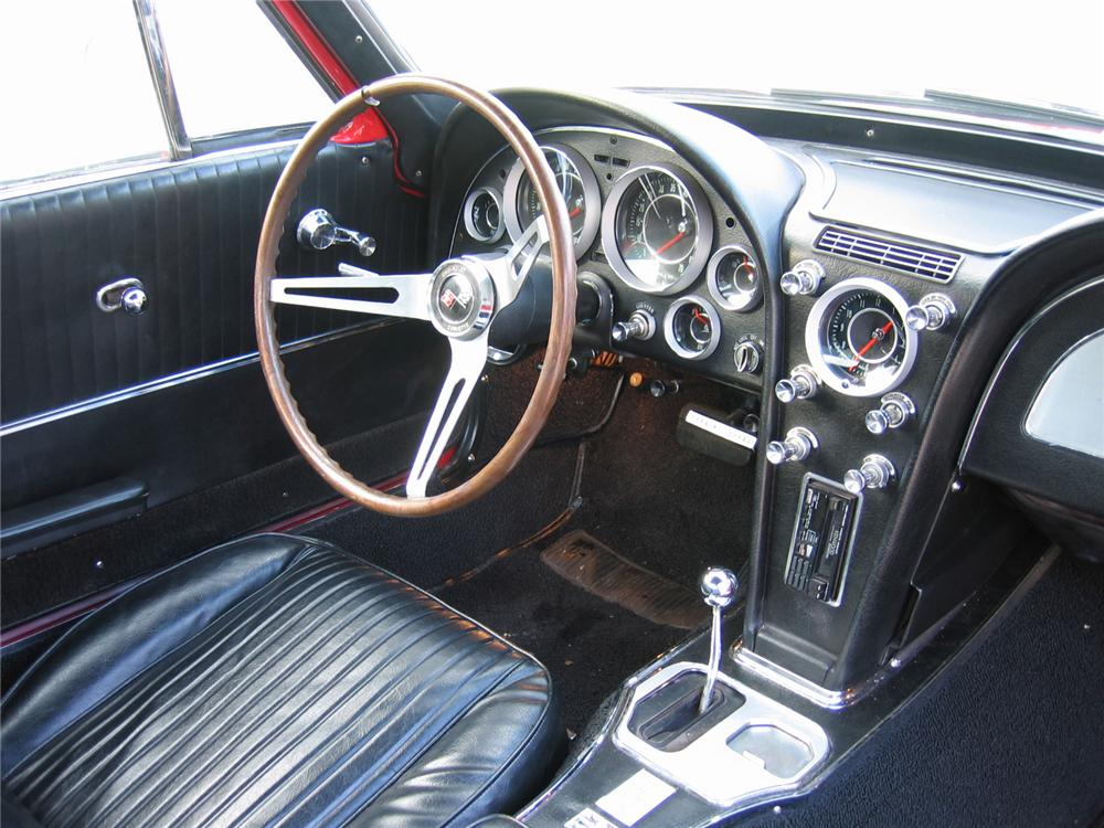 1964 CHEVROLET CORVETTE 2 DOOR COUPE - Interior - 64449