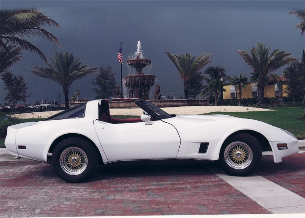 1980 CHEVROLET CORVETTE CUSTOM COUPE - Side Profile - 64472