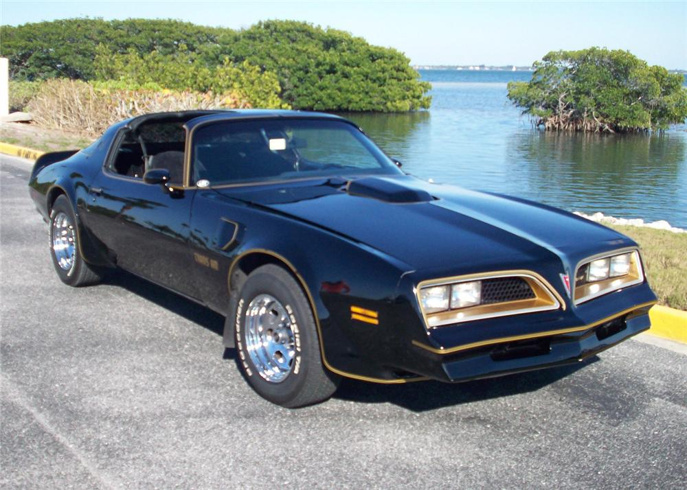1977 PONTIAC FIREBIRD TRANS AM COUPE - Front 3/4 - 64475