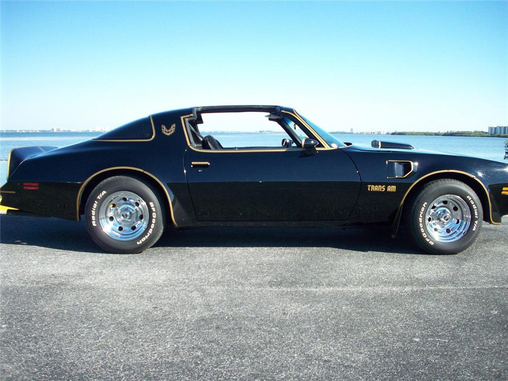 1977 PONTIAC FIREBIRD TRANS AM COUPE - Side Profile - 64475