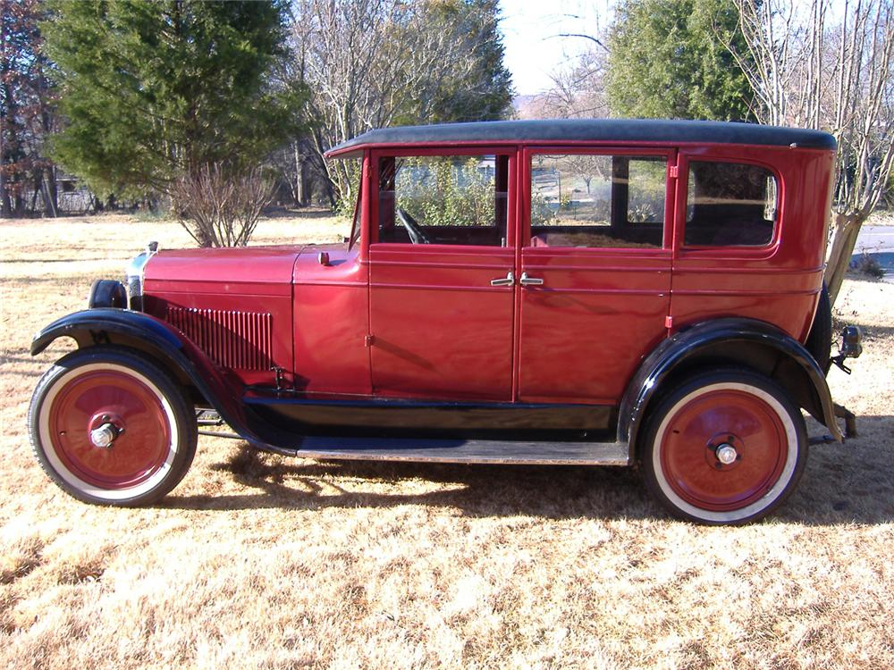 1926 NASH AJAX 4 DOOR HARDTOP - Side Profile - 64476