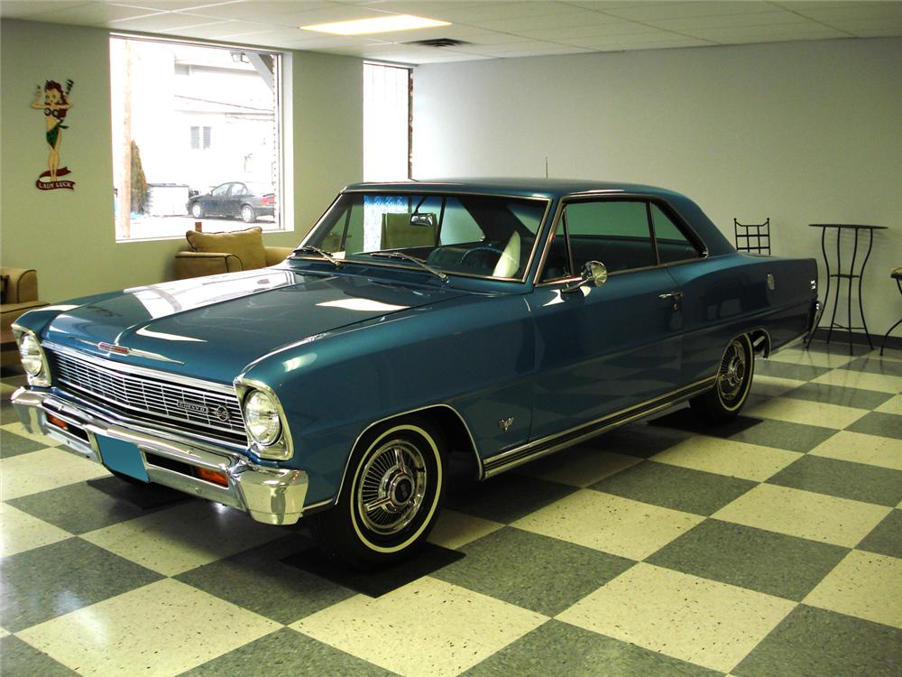 1966 CHEVROLET NOVA SS 2 DOOR HARDTOP - Side Profile - 64482