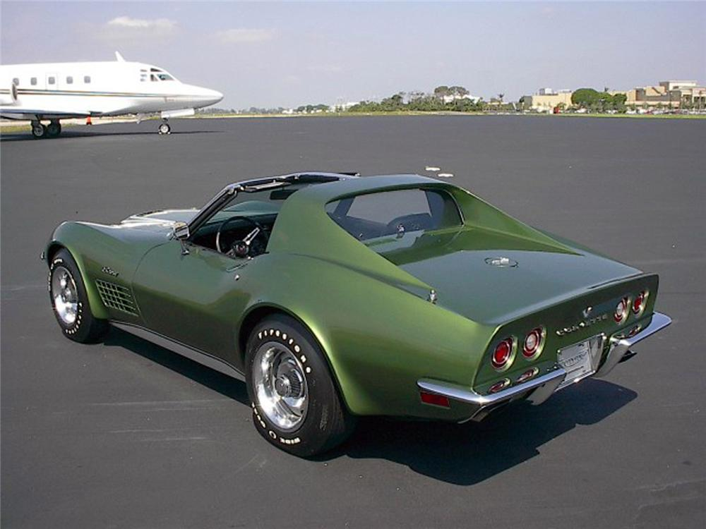 1972 CHEVROLET CORVETTE COUPE - Rear 3/4 - 64562