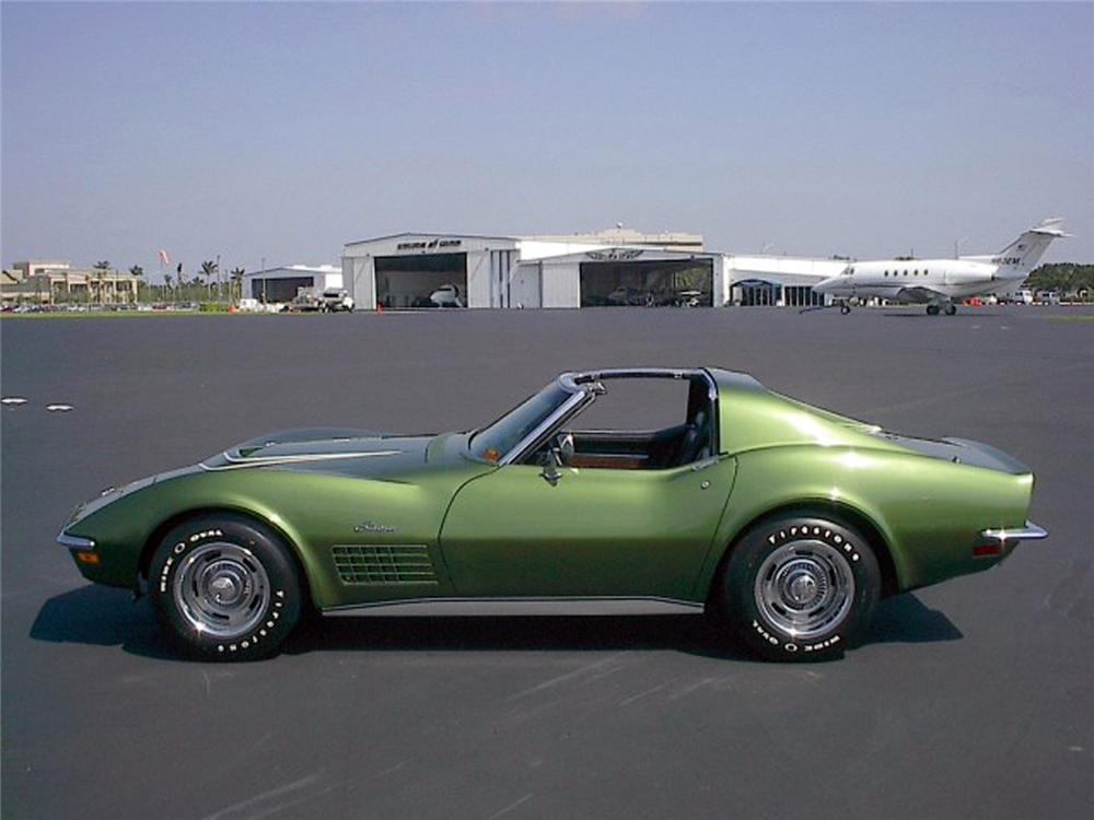 1972 CHEVROLET CORVETTE COUPE - Side Profile - 64562