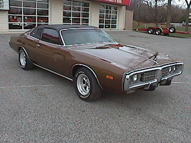 1974 DODGE CHARGER COUPE - Front 3/4 - 64629