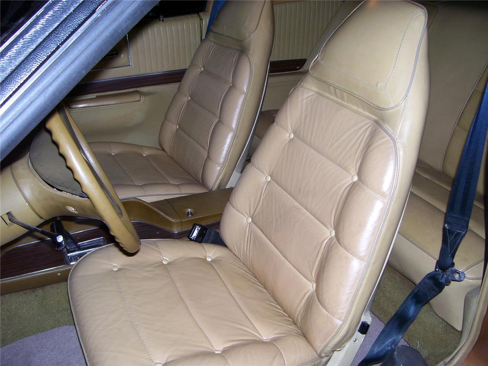 1974 DODGE CHARGER COUPE - Interior - 64629