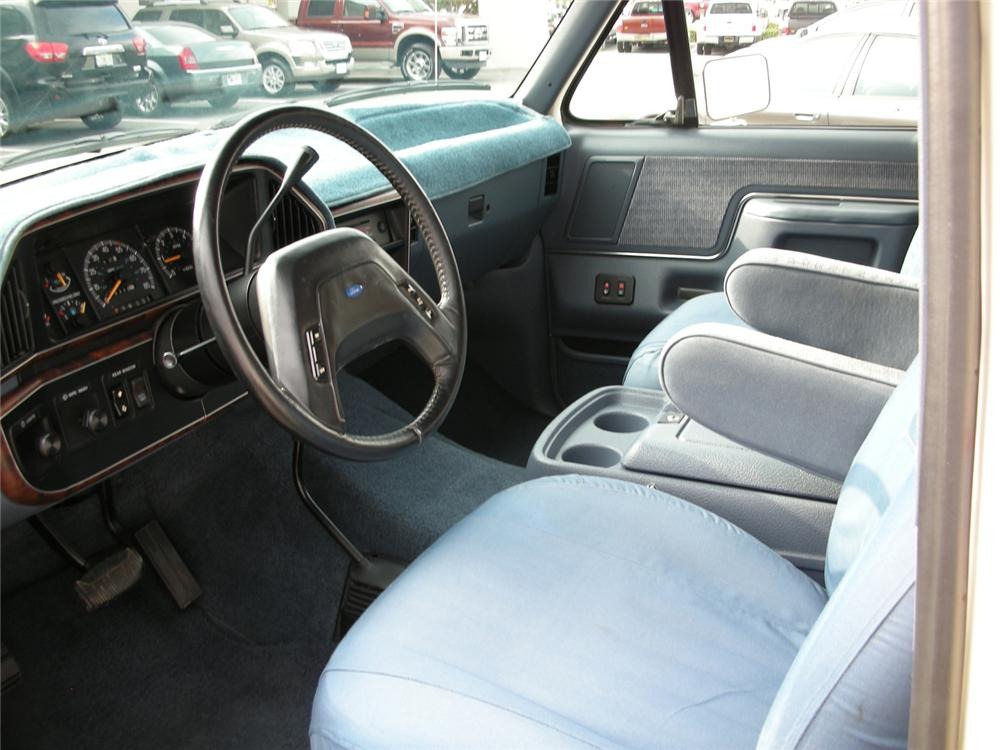 1990 FORD BRONCO XLT - Interior - 64641