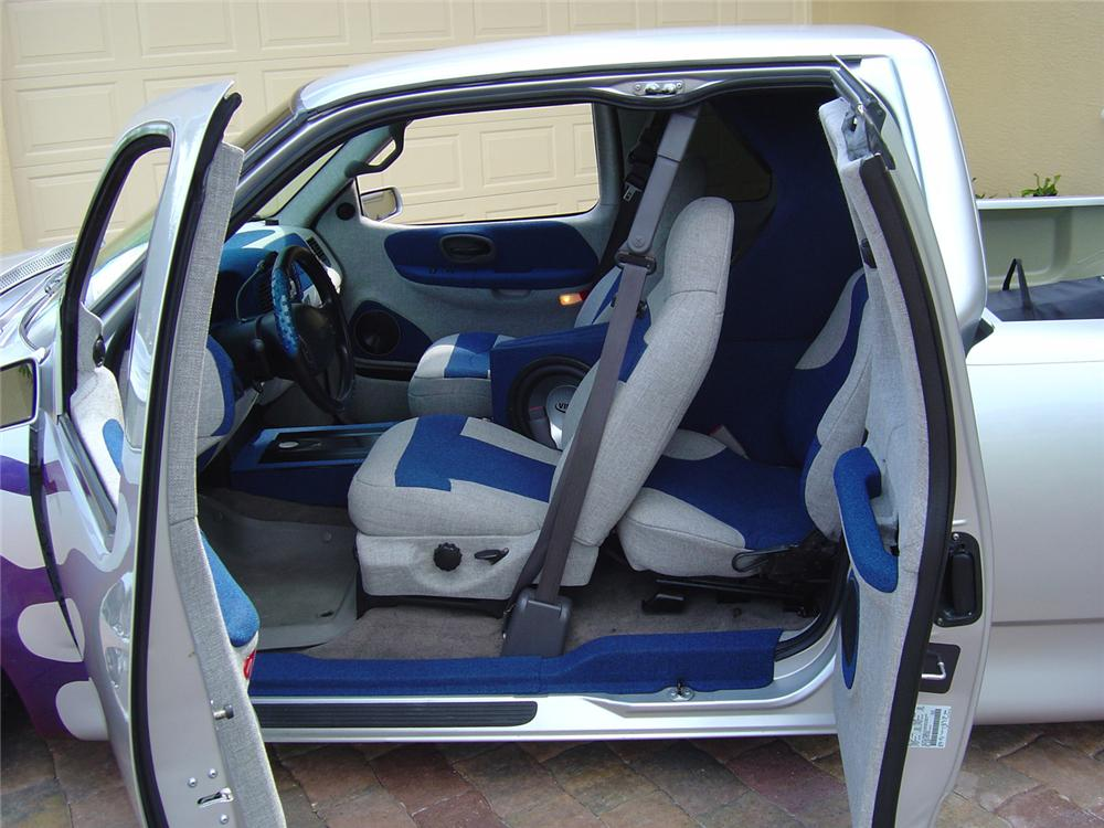 1999 FORD F-150 CUSTOM EXTENDED CAB - Interior - 64642
