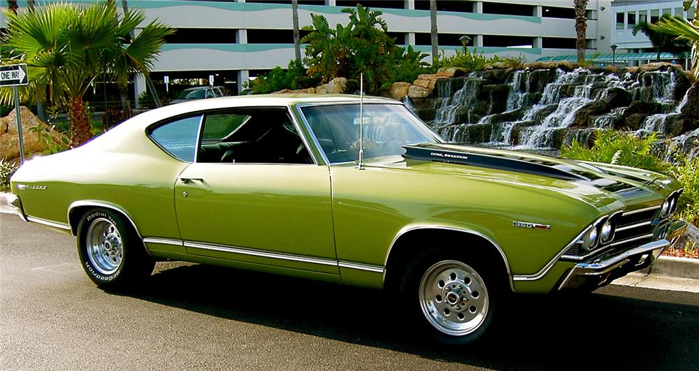 1969 Chevrolet Chevelle Malibu Ss 454 Re Creation 64657
