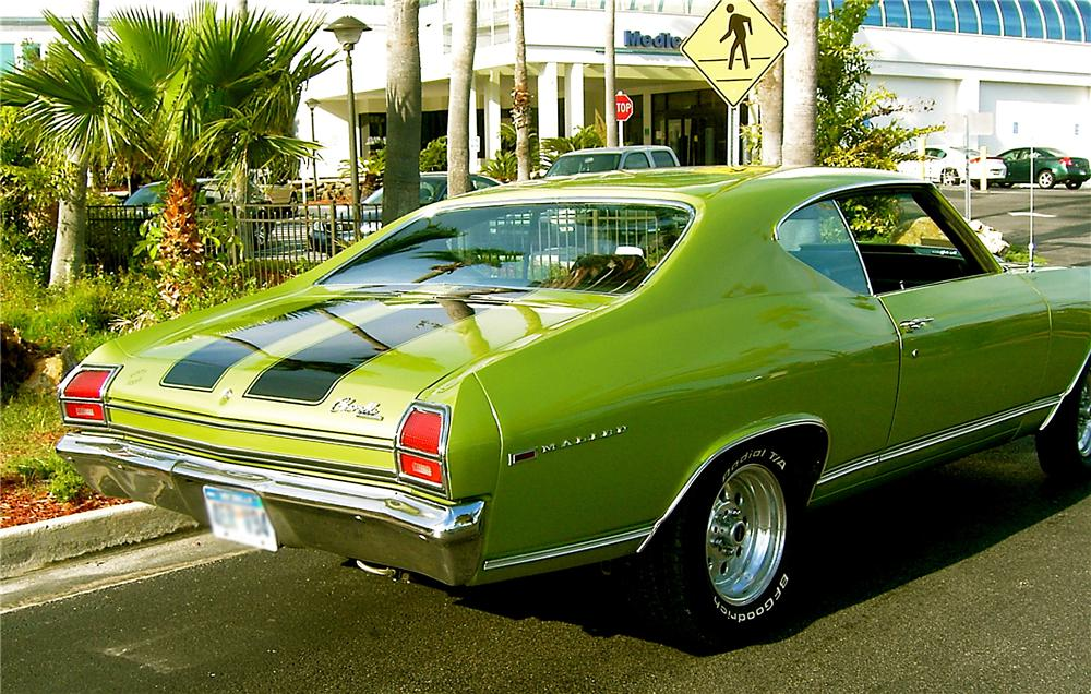 1969 CHEVROLET CHEVELLE MALIBU SS 454 RE-CREATION - Rear 3/4 - 64657