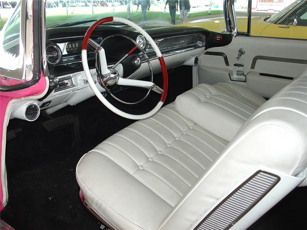 1959 CADILLAC SERIES 62 2 DOOR CONVERTIBLE - Interior - 64658