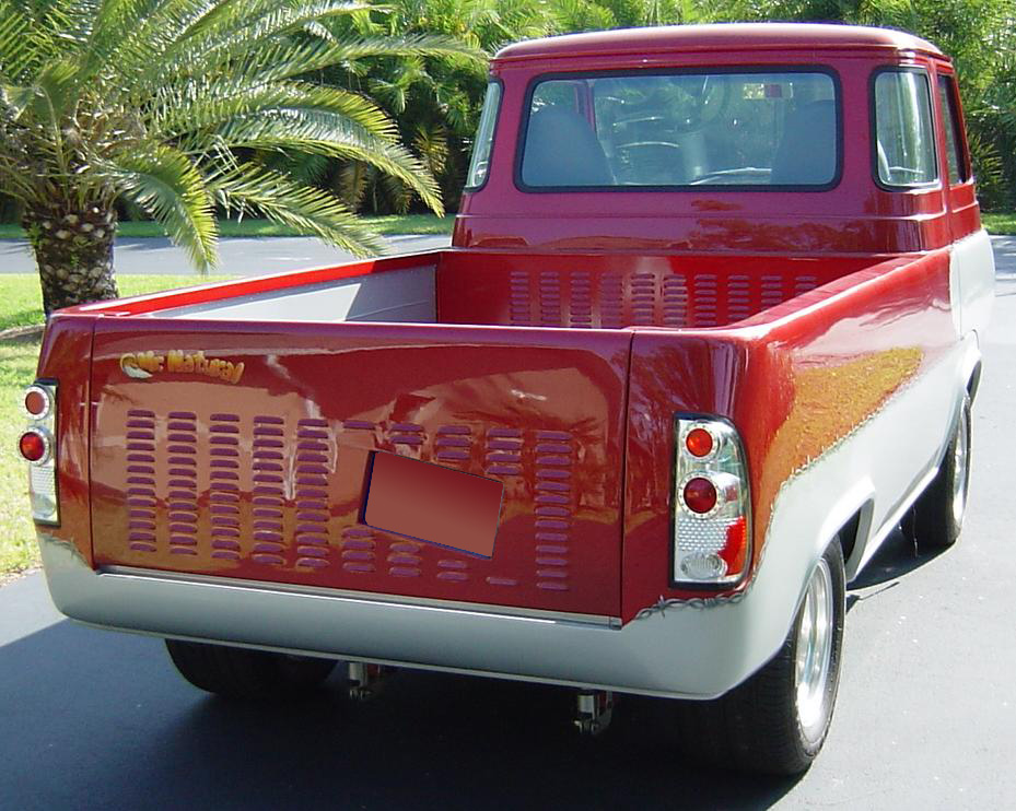 1966 FORD ECONOLINE CUSTOM TRUCK - Rear 3/4 - 64683