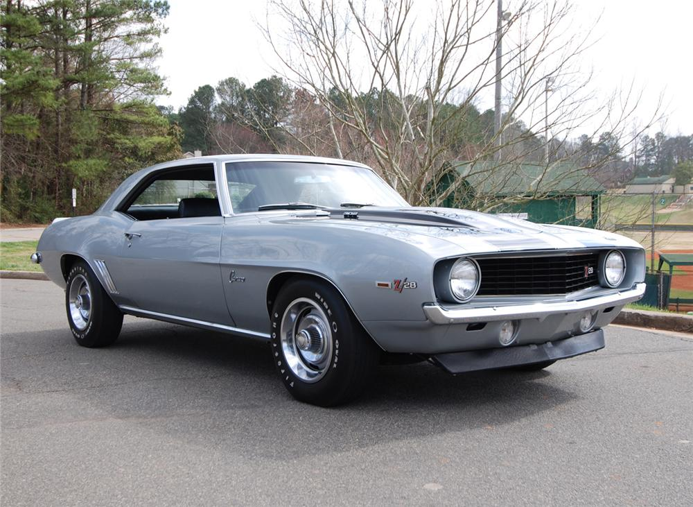 1969 CHEVROLET CAMARO Z/28 2 DOOR COUPE - Front 3/4 - 64684