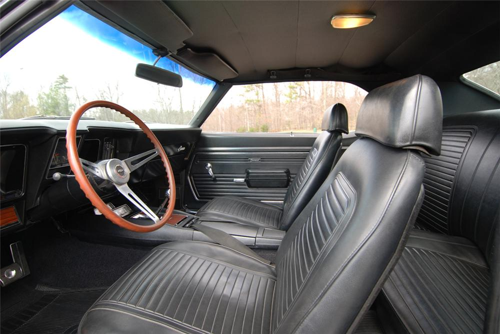 1969 CHEVROLET CAMARO Z/28 2 DOOR COUPE - Interior - 64684