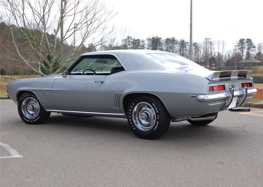 1969 CHEVROLET CAMARO Z/28 2 DOOR COUPE - Rear 3/4 - 64684