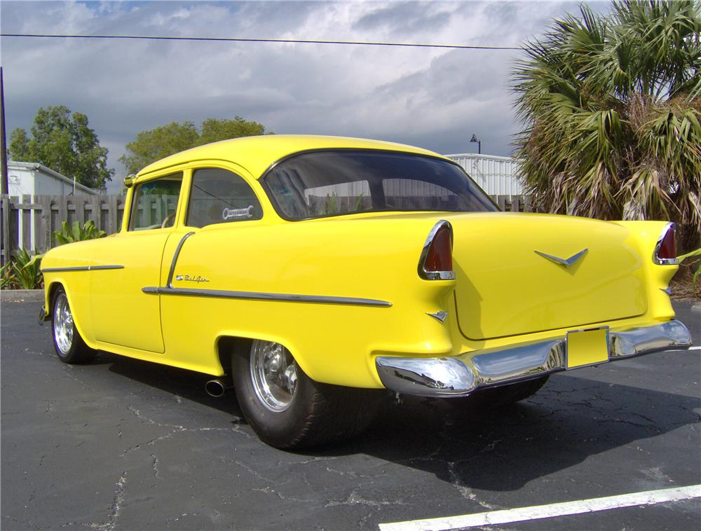 1955 CHEVROLET 210 2 DOOR PRO-STREET - Rear 3/4 - 64702