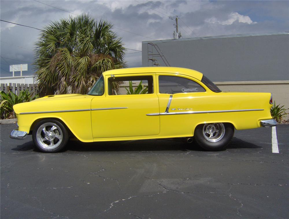 1955 CHEVROLET 210 2 DOOR PRO-STREET - Side Profile - 64702
