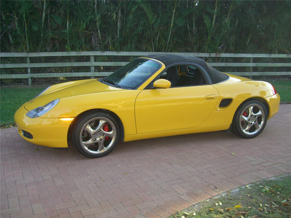 2001 PORSCHE BOXSTER S CONVERTIBLE - Side Profile - 64713