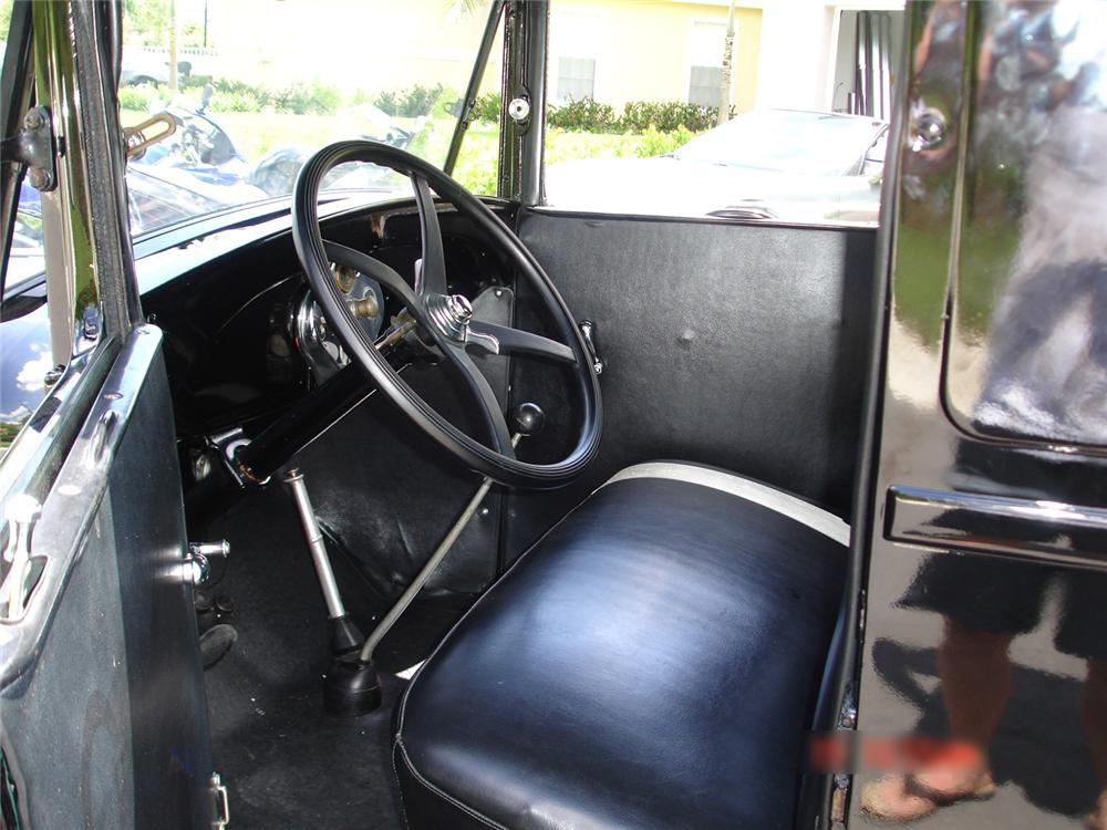 1929 FORD MODEL A PICKUP - Interior - 65006