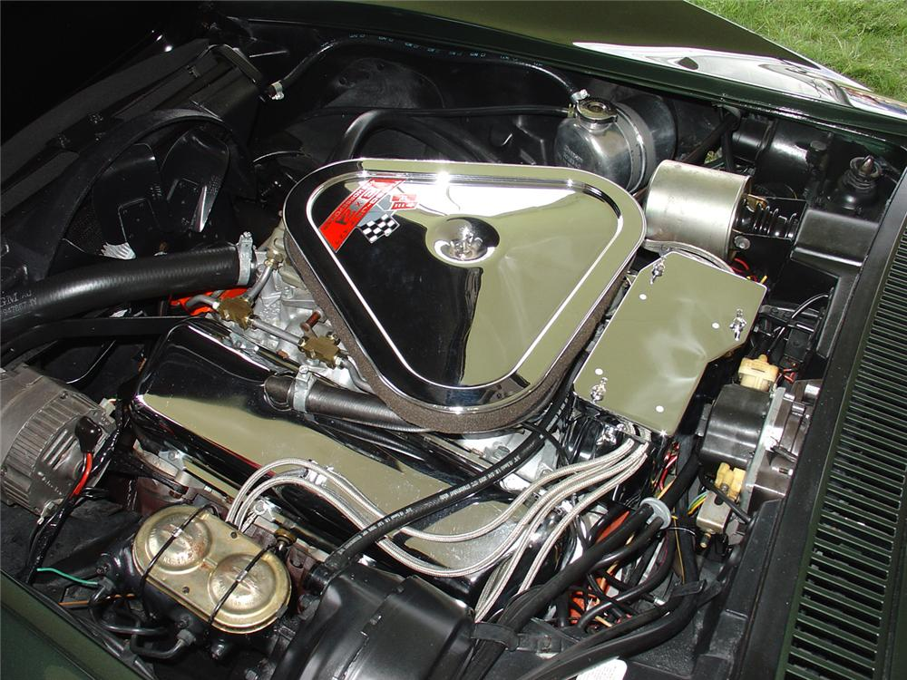 1969 CHEVROLET CORVETTE CONVERTIBLE - Engine - 65071