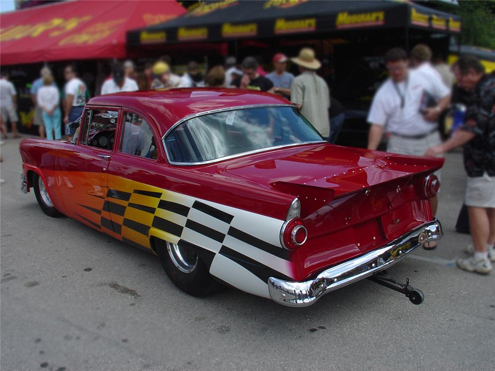 1956 FORD FAIRLANE PRO-STREET - Rear 3/4 - 65143