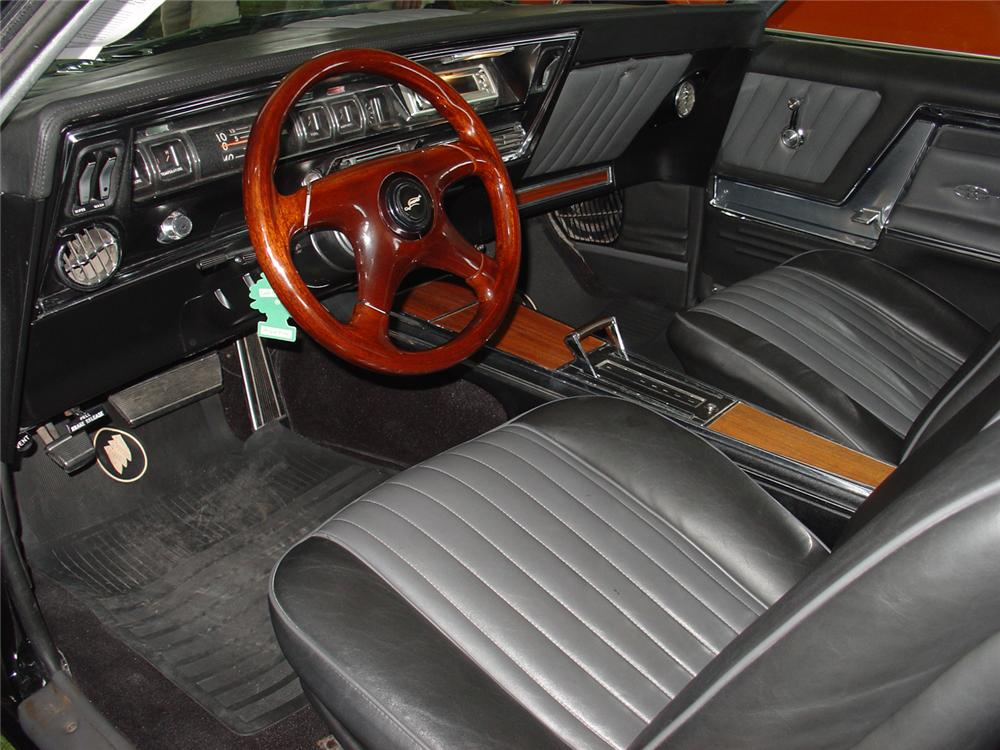 1966 BUICK RIVIERA GS CUSTOM 2 DOOR COUPE - Interior - 65159