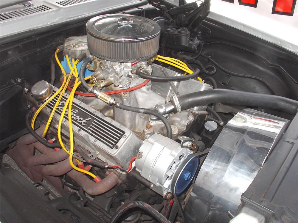 1972 CHEVROLET NOVA 2 DOOR  HARDTOP - Engine - 65297